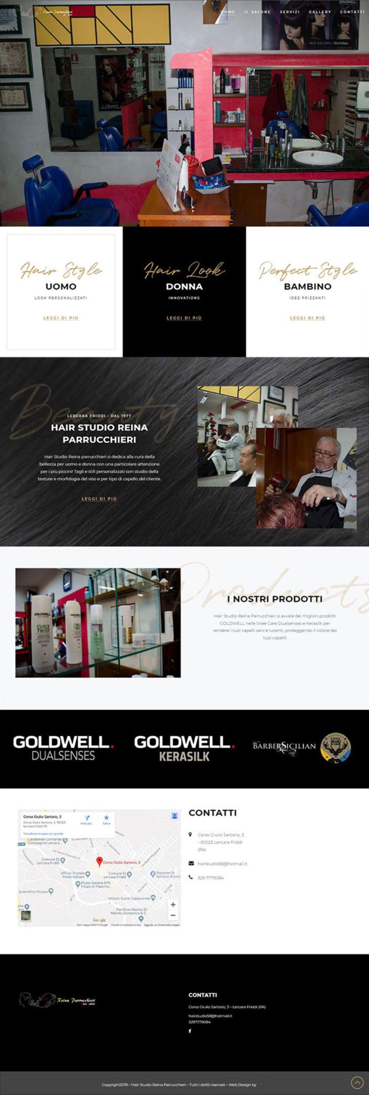Hair studio Reina parrucchieri